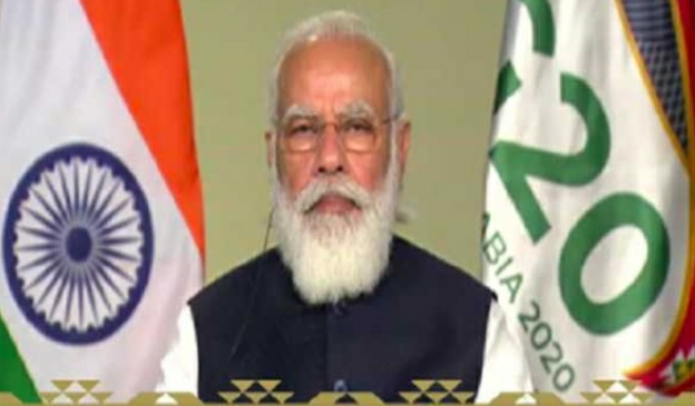 Prime Minister Modi calls for decisive action on Covid-19 by G-20