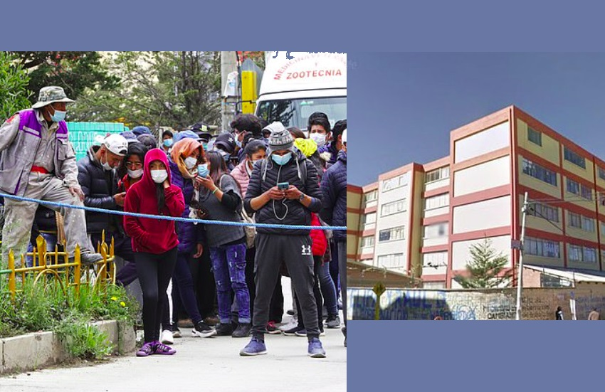 Bolivian university, five students killed after railing collapses