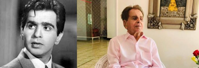 Great legendary actor of Indian films Dilip Kumar passes away at 98
