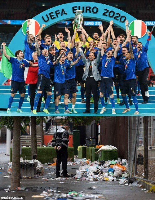 Italy unbeaten in last 33 matches leaves UK in the doldrums