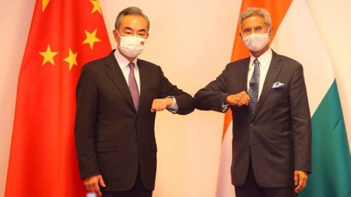 Jaishankar meets with Chinese counterpart to pitch for peace at borders