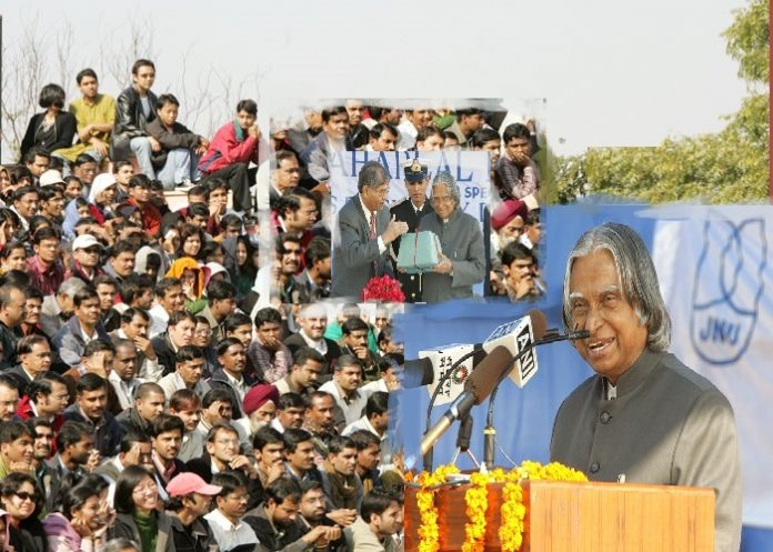 Remembering Dr. Kalam who faced resistance from students on his visit to JNU
