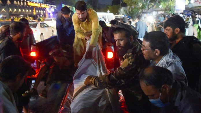 60 Afghan civilians, 13 US troops killed In Kabul blasts, ISIS claims attack
