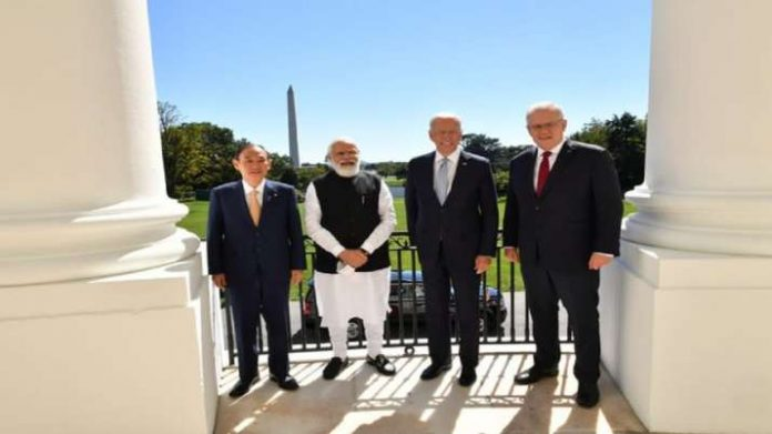PM Modi At First In-Person Summit: