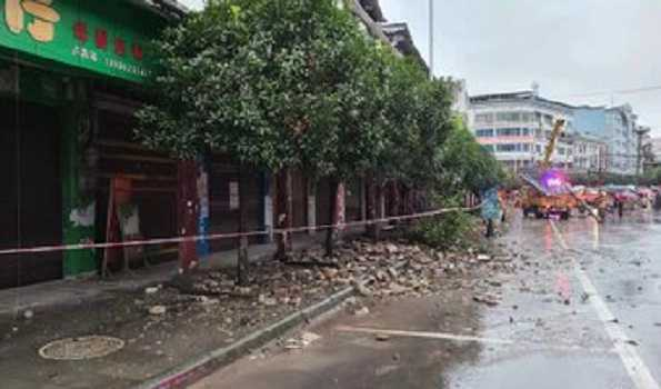 Three dead, 60 injured in China earthquake with 6.0-magnitude