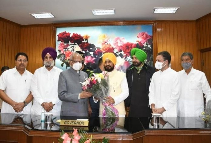 Punjab Channi first Dalit CM, shows support of farmers hours after oath