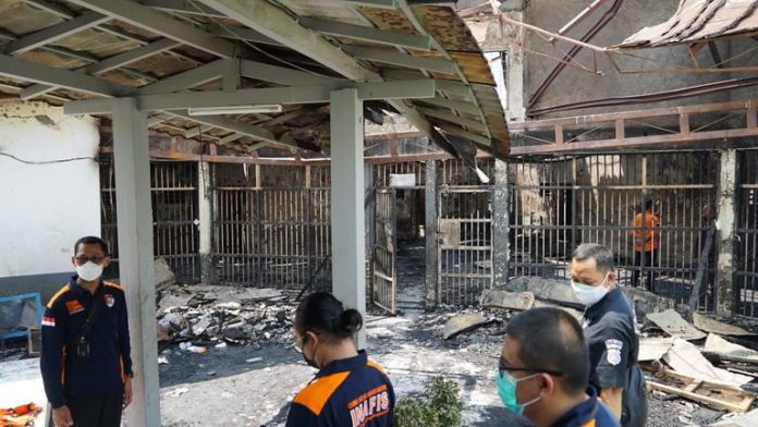 41 people have died in Indonesian prison after a fire broke out