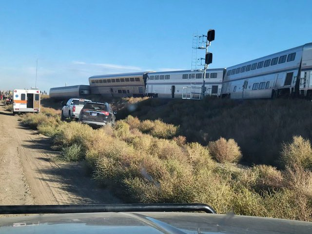 3 dead in Amtrak train derailment in Montana and many injured