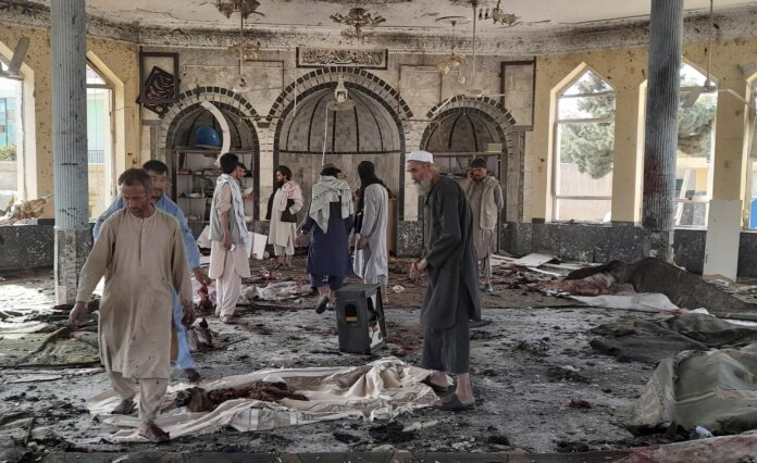 Horrific! Suicide bomber kills 100 in northern Afghanistan Shia Mosque